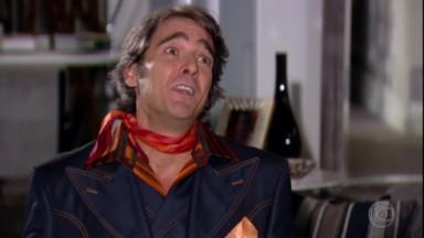 Alexandre Borges como Jacque Clair em Ti Ti Ti