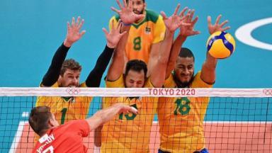 Brasil perdeu para Rússia nas Olimpíadas