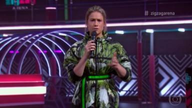 Fernanda Gentil no Zig Zag Arena