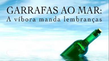 Logotipo do documentário Garrafas ao Mar