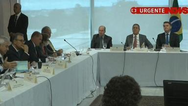 Jair Bolsonaro e ministros