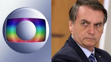 Logo Globo; Bolsonaro irritado