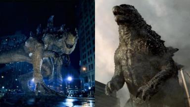 Monstro de origem japonesa, Godzilla ganhou filmes em Hollywood em 1998 e 2014