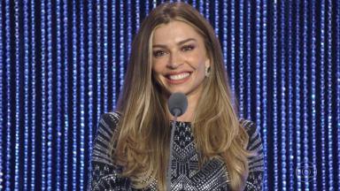A atriz Grazi Massafera não perdeu a oportunidade de dar aquela alfinetada na produção do Faustão. Confira