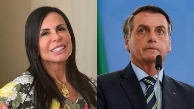 Gretchen e Jair Bolsonaro