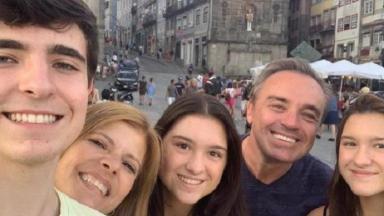 Gugu e sua família