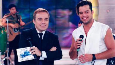 Gugu Liberato e Ricky Martin