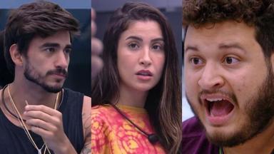 Líder da semana, Guilherme analisa colocar Victor Hugo no paredão após atitude no BBB20