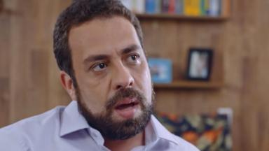 Guilherme Boulos em entrevista