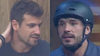 Guilherme Leão e Lucas Viana entraram em debate no reality show A Fazenda 2019