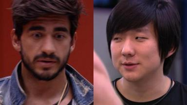 Guilherme quer ser líder de novo para indicar Pyong Lee ao paredão no BBB20
