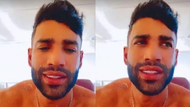 Gusttavo Lima em vídeo no Instagram