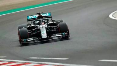 Carro de Fórmula 1 de Lewis Hamilton