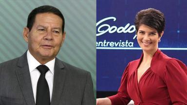 Hamilton Mourão e Mariana Godoy