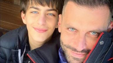 Henri Castelli e seu filho Lucas