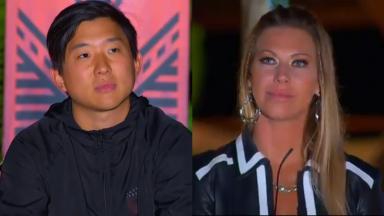 Pyong e Antonela tensos na Ilha Record