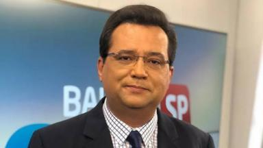 O apresentador Geraldo Luís
