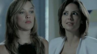 Adriana Birolli e Andreia Horta em cena da novela Império, em reprise na Globo