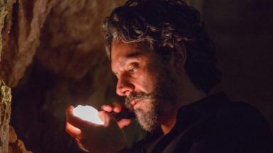 Alexandre Nero como o Comendador da novela Império, em reprise na Globo