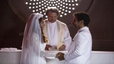 Juliana Paes e Marcos Palmeira