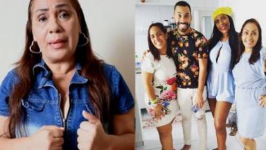 Jacira Santana e filhos