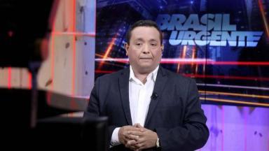 Jacson Damasceno durante o Brasil Urgente
