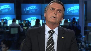 Jair Bolsonaro reclamando