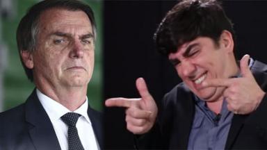 Bolsonaro e Adnet