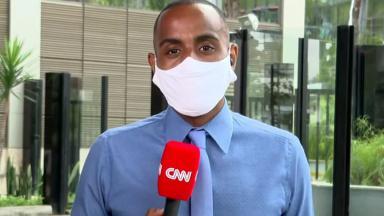 O repórter Jairo Nascimento, da CNN Brasil