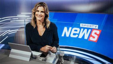 Janaína Xavier no SporTV News