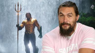 Jason Momoa e seu Aquaman