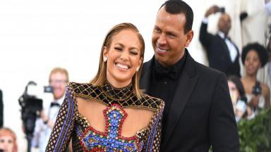 Jennifer Lopez e o noivo