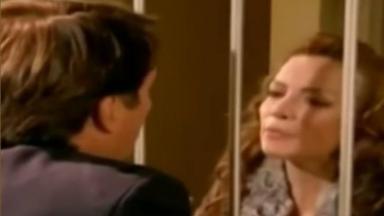Renata visita Jerônimo na prisão