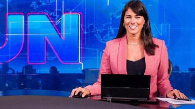 Jéssica Senra no Jornal Nacional