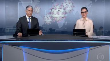 William Bonner e Renata Vasconcellos no JN
