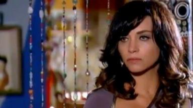 Foto da cena em que Joana chega na pousada