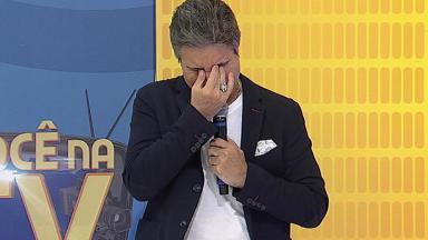 João Kléber chora