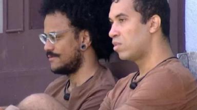 João Luiz ao lado de Gilberto