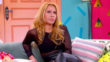 Joelma foi entrevistada no Programa da Maisa