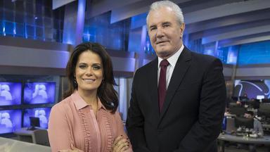 Adriana Araújo e Celso Freitas