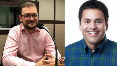 José Aldo Pinheiro e Guilherme Baumhardt
