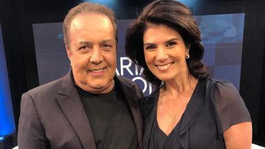 José Augusto e Mariana Godoy