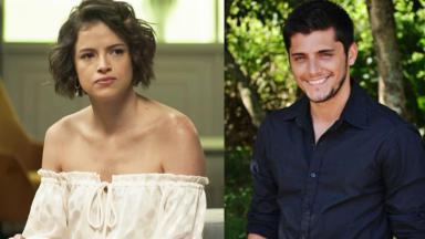 Agatha Moreira e Bruno Gissoni