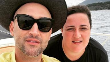 Paulo Gustavo ao lado da irmã, Ju Amaral