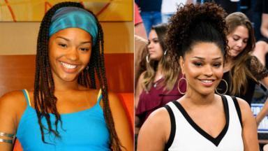 Juliana Alves antes e depois do Domingão
