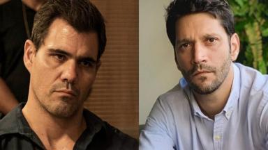 Juliano Cazarré e Armando Babaioff