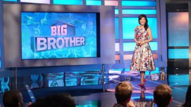 Julie Chen apresentando o Big Brother