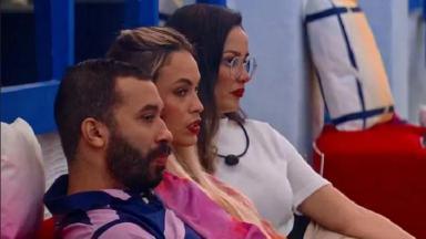 Juliette, Gil e Sarah no BBB21