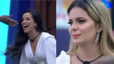 Viih Tube (dir) foi julgada por comportamento na amizade com Juliette (esq) durante o BBB21
