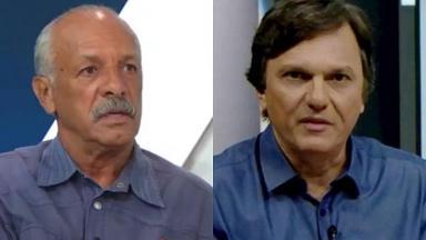 Junior e Mauro Cézar